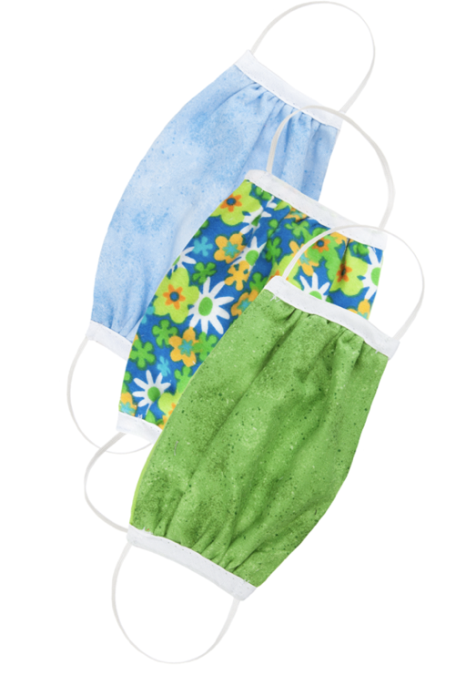 Three Pack Reusable Face Mask