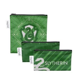 Bumkins Harry Potter Snack Bag 3pack Slytherin