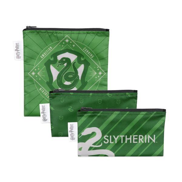 Bumkins Harry Potter Snack Bag 3pack Slytherin