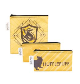 Bumkins Harry Potter Snack Bag 3pk Hufflepuff