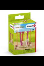 Schleich Farm World Pony Curtain Obstacle 42484