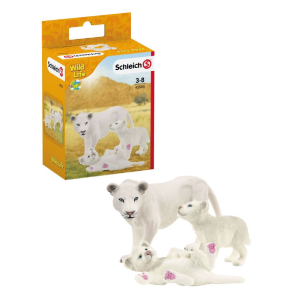 Schleich Lionness with Cubs 42505