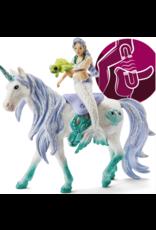 Schleich Mermaid Riding on Sea Unicorn 42509