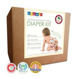 Bummis Organic Cloth Diaper Kit