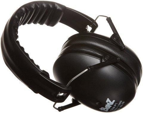 Baby Banz Earmuffs Black 2-10yr