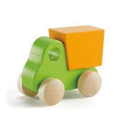 Hape Little Dump Truck, Green E0054