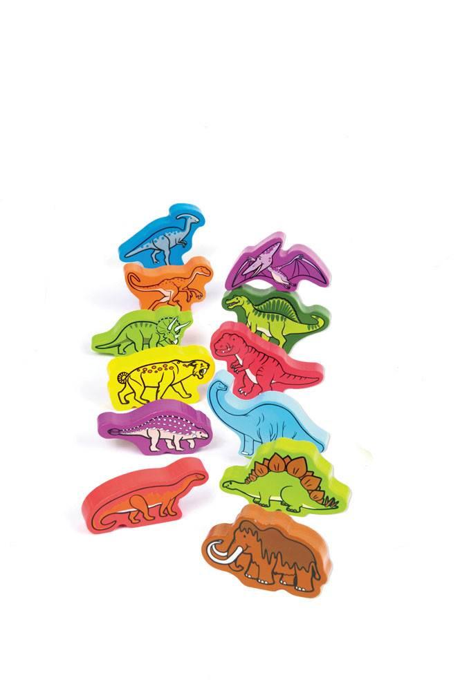 Hape Roaming Dinosaurs Qubes E0910