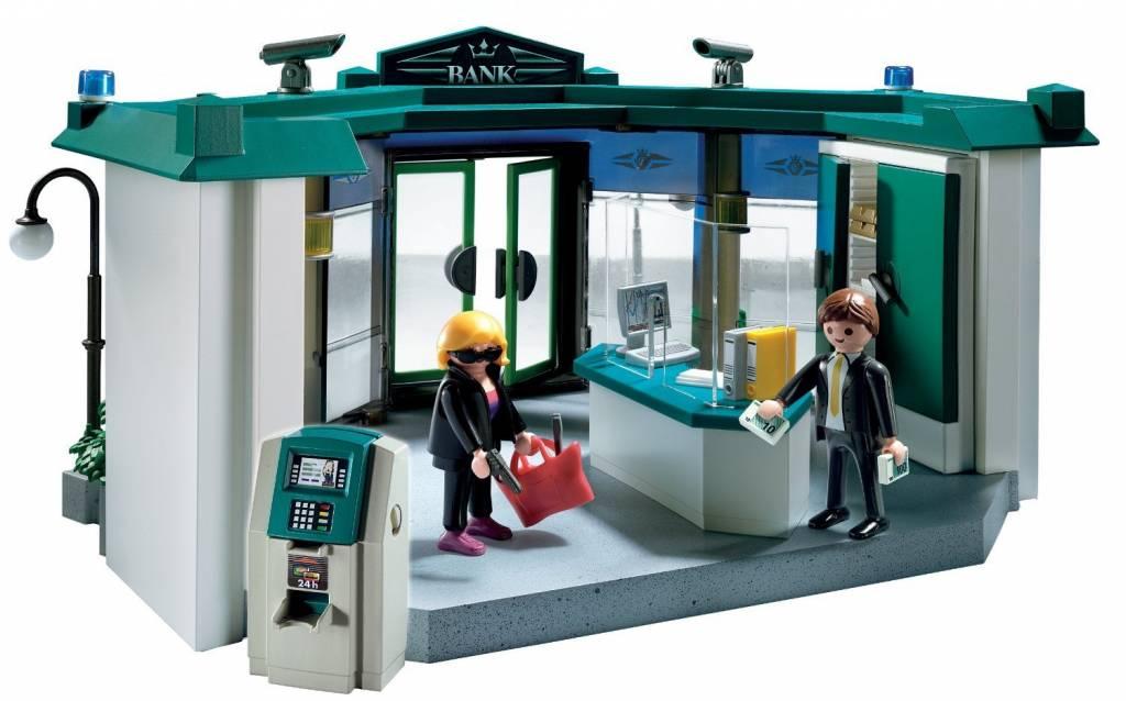 Playmobil Bank with Safe