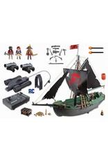 Playmobil Pirates Ship with RC Underwater Motor