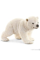 Schleich Polar Bear Cub Walking
