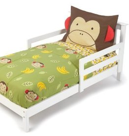 Skip Hop Skip Hop - 4pc Toddler Bedding Set Zoo Monkey