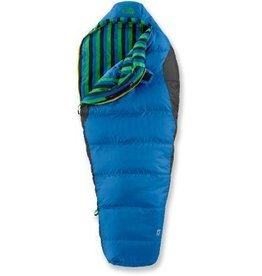 The North Face Youth Aleutian 3S Down Sleeping Bag Athens Blue