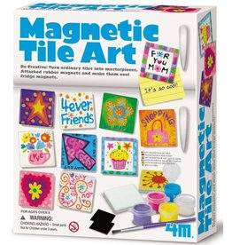 4M Magnetic Tile Art