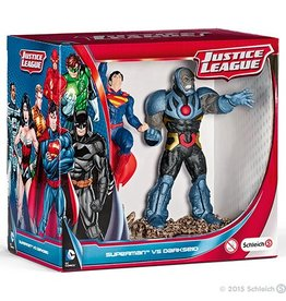 Schleich Superman vs Darkseid Scenery Pack