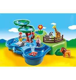 Playmobil 1.2.3 Take Along Zoo & Aquarium (6792)