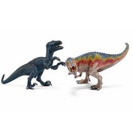Schleich T-Rex and Velociraptor, small (42216)