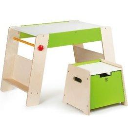 Hape Play Station and Stool Set E1015