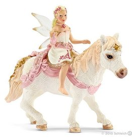 Schleich Delicate Lily Elf Riding (70501)