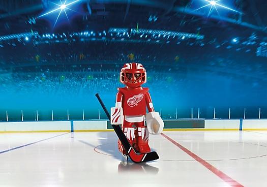 Playmobil NHL Detroit Red Wings Goalie