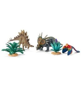 Schleich Scenery Pack At Home with the Herbivores (42260)