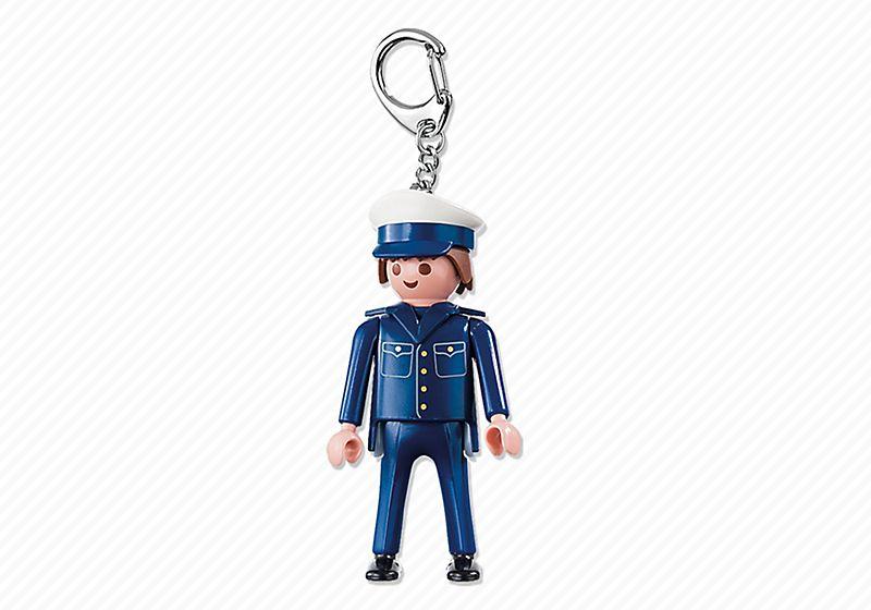 Playmobil Policeman Keyring