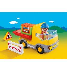 Playmobil 1.2.3. Construction Truck