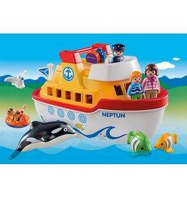 Playmobil 1.2.3. My Take Along Ship