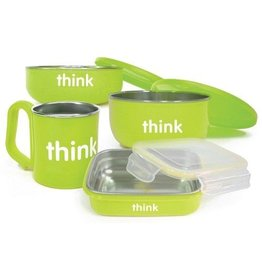 Thinkbaby Thinksport The Complete BPA Free Feeding Set Lt Green