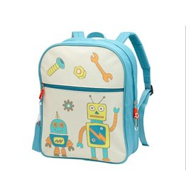 Zippee Back Pack - Retro Robot
