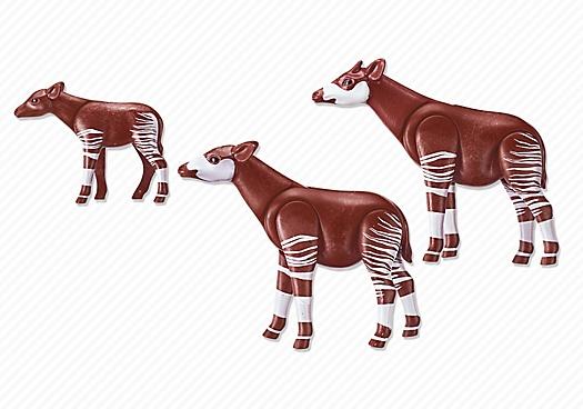 Playmobil Okapi Family