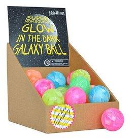 Seedling Glow in the Dark Galaxy Super-bounce Ball