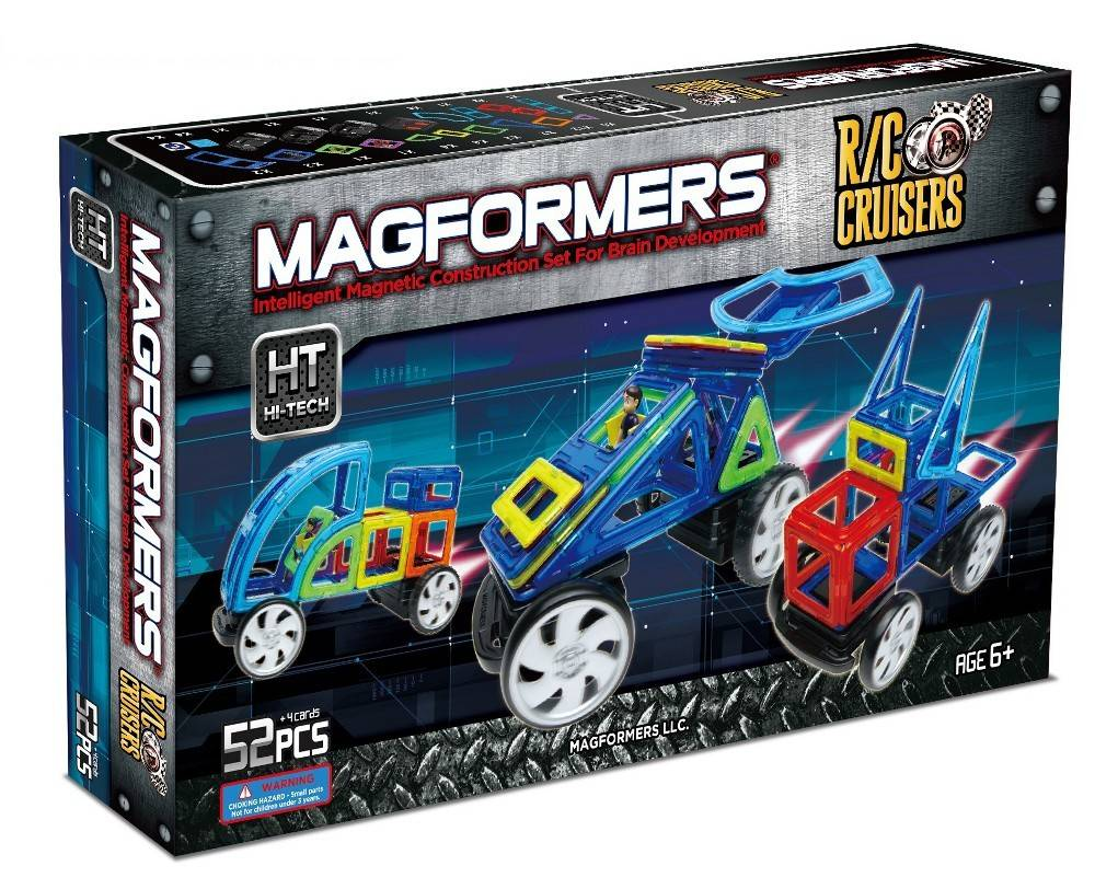 Magformers R/V Cruiser Set 52 pcs