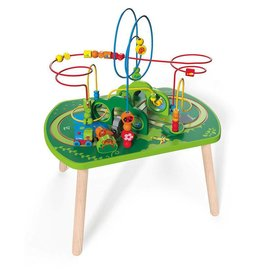 Hape Jungle Play & Train Activity Table E3801