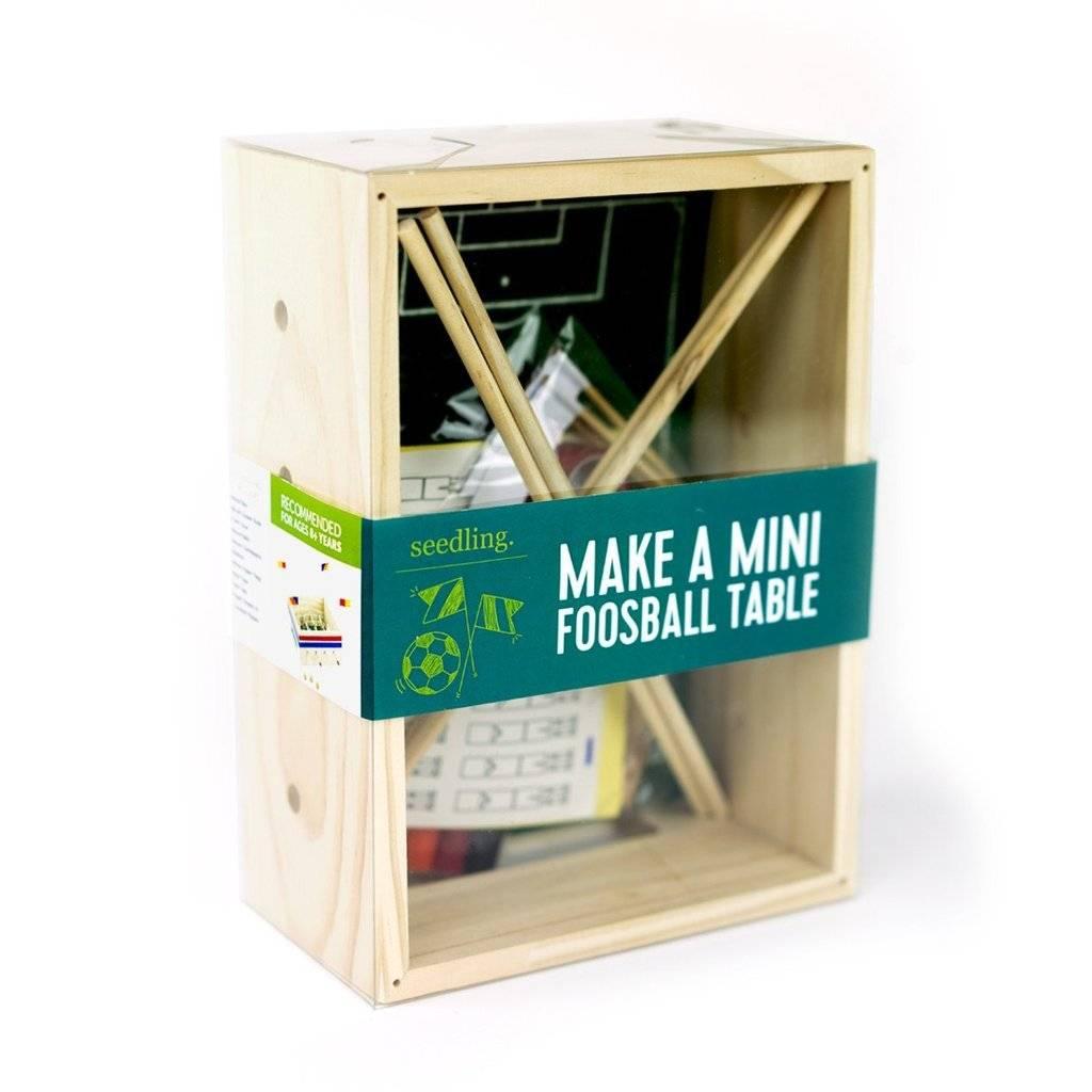 Seedling Make a Mini  Foosball Table