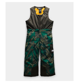 The North Face Toddler Insulated Bibs Evergreen Mountain Camo