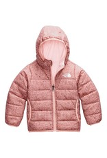 The North Face Toddler Reversible Perrito Jacket Pink Clay Confetti