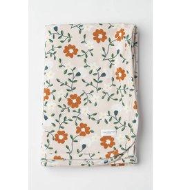 Loulou Lollipop Stretch Knit Blanket in Tencel Flower Vine