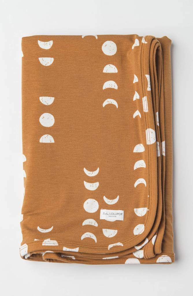 Loulou Lollipop Stretch Knit Blanket in Tencel Moon