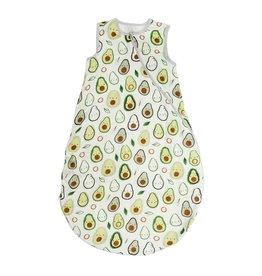 Loulou Lollipop Muslin Sleep Bag 1 TOG - Avocado