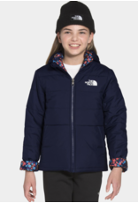 The North Face Girls Reversible Perrito Jacket Navy