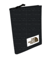 The North Face Travel Wallet TNF Black HTHR