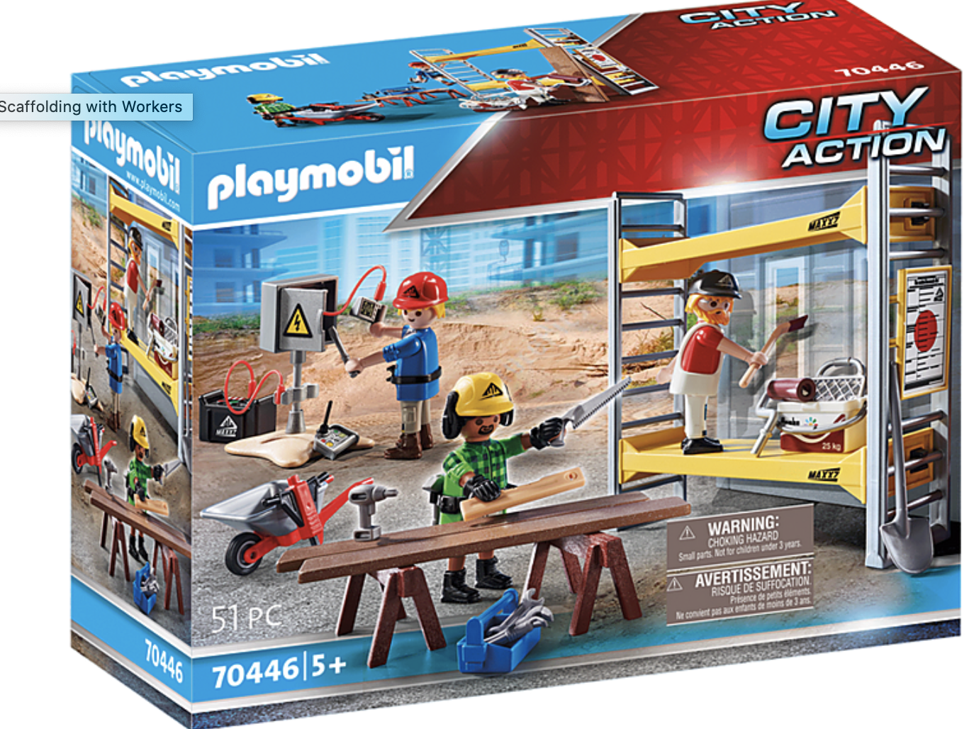 Playmobil Scaffolding with Workers
