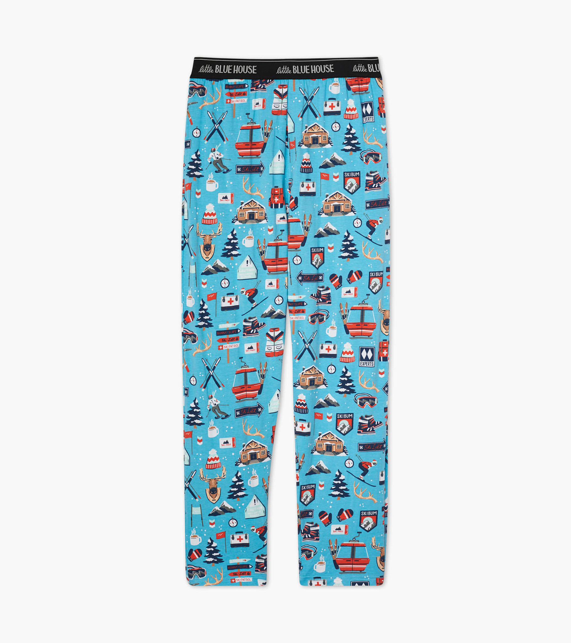 Ski Holiday Men's Jersey Pajama Pants
