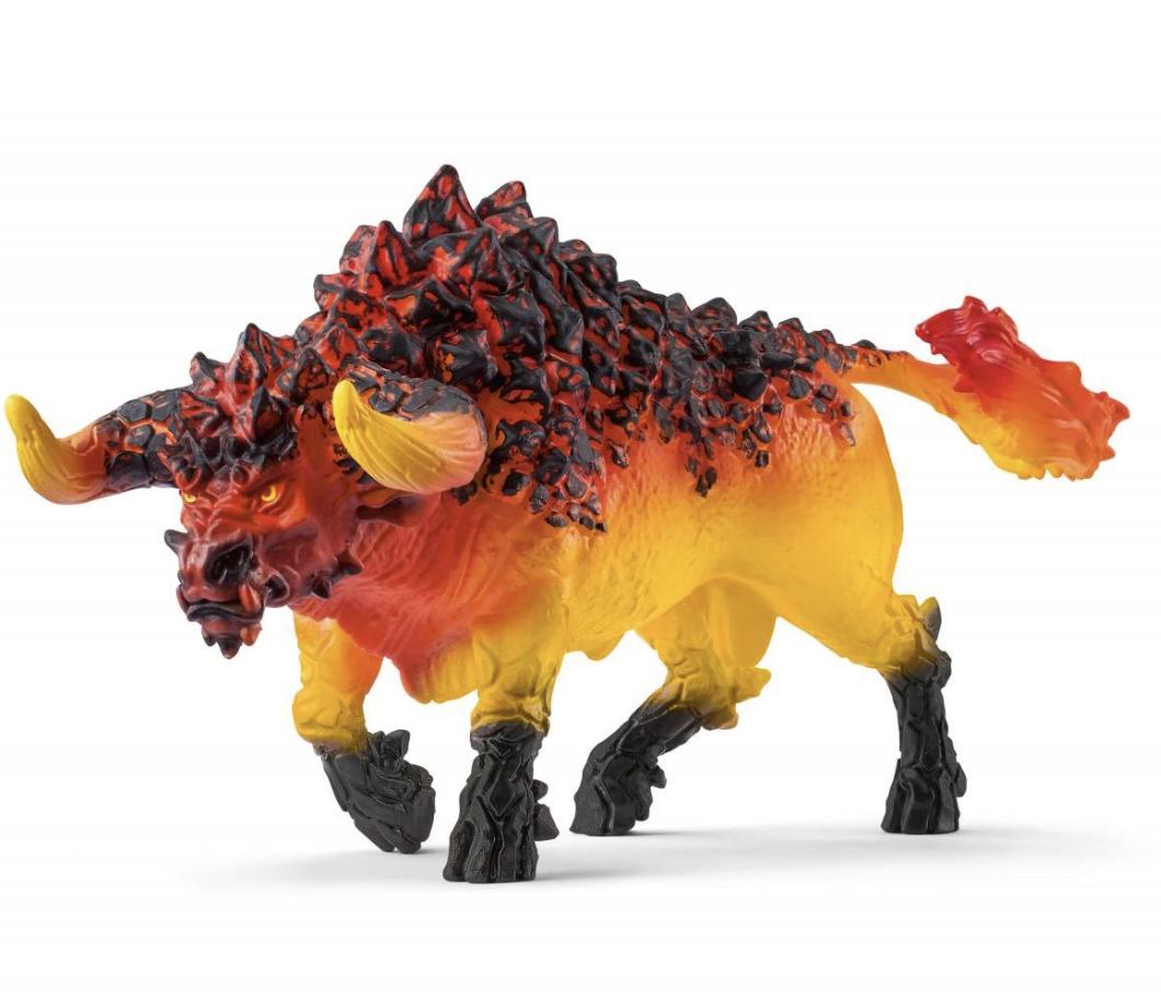 Schleich Eldrador Creatures Fire Bull 42493