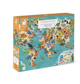 Janod 200pc 3D Educational Puzzle The Dinosaurs