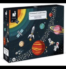 Janod 100PC Educational Puzzle Solar System