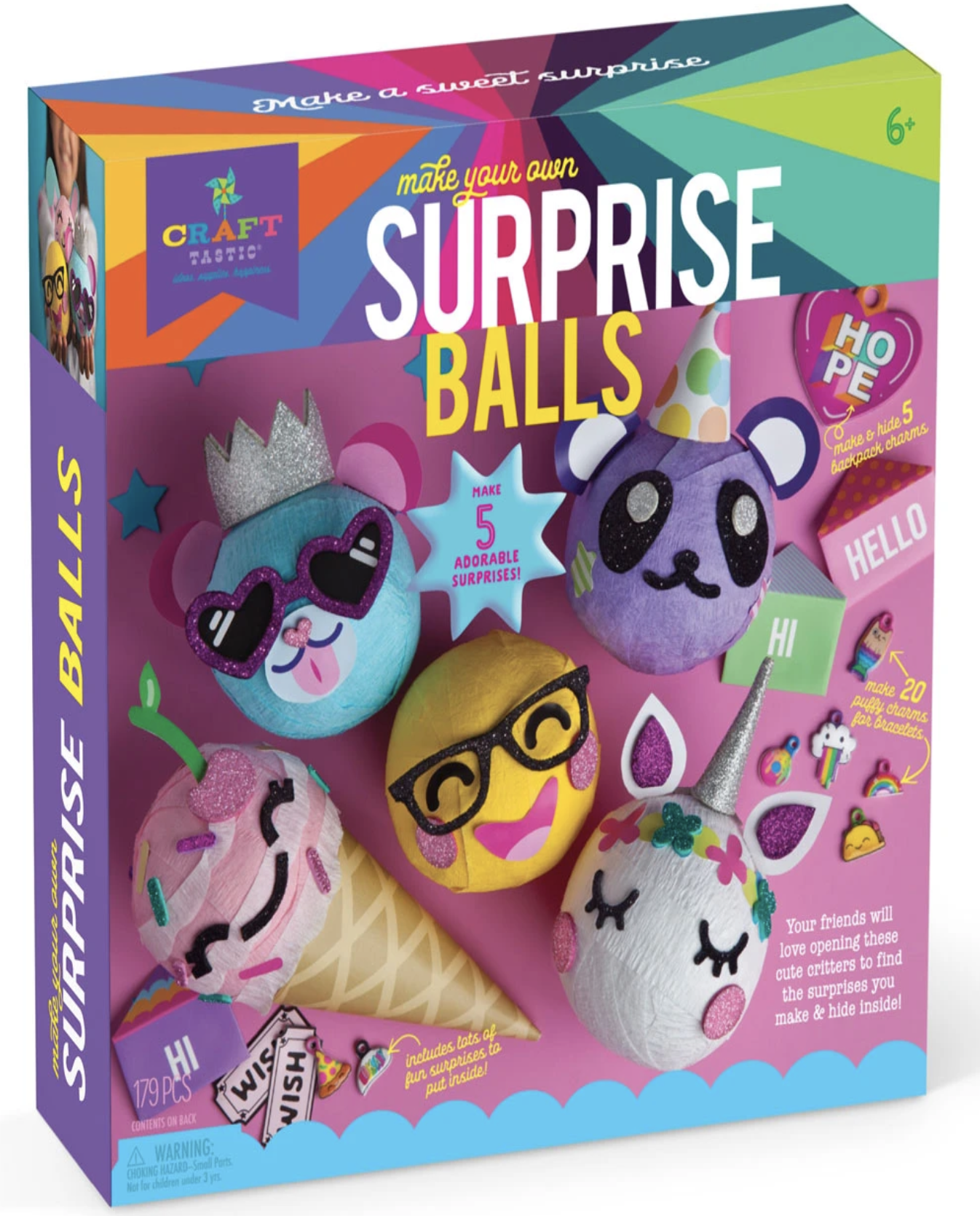 Ann Williams Make your own surprise balls