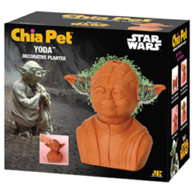 Chia Pet Yoda