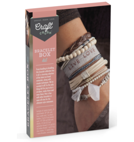 Ann Williams Craft Crush Bracelet Box-Neutrals