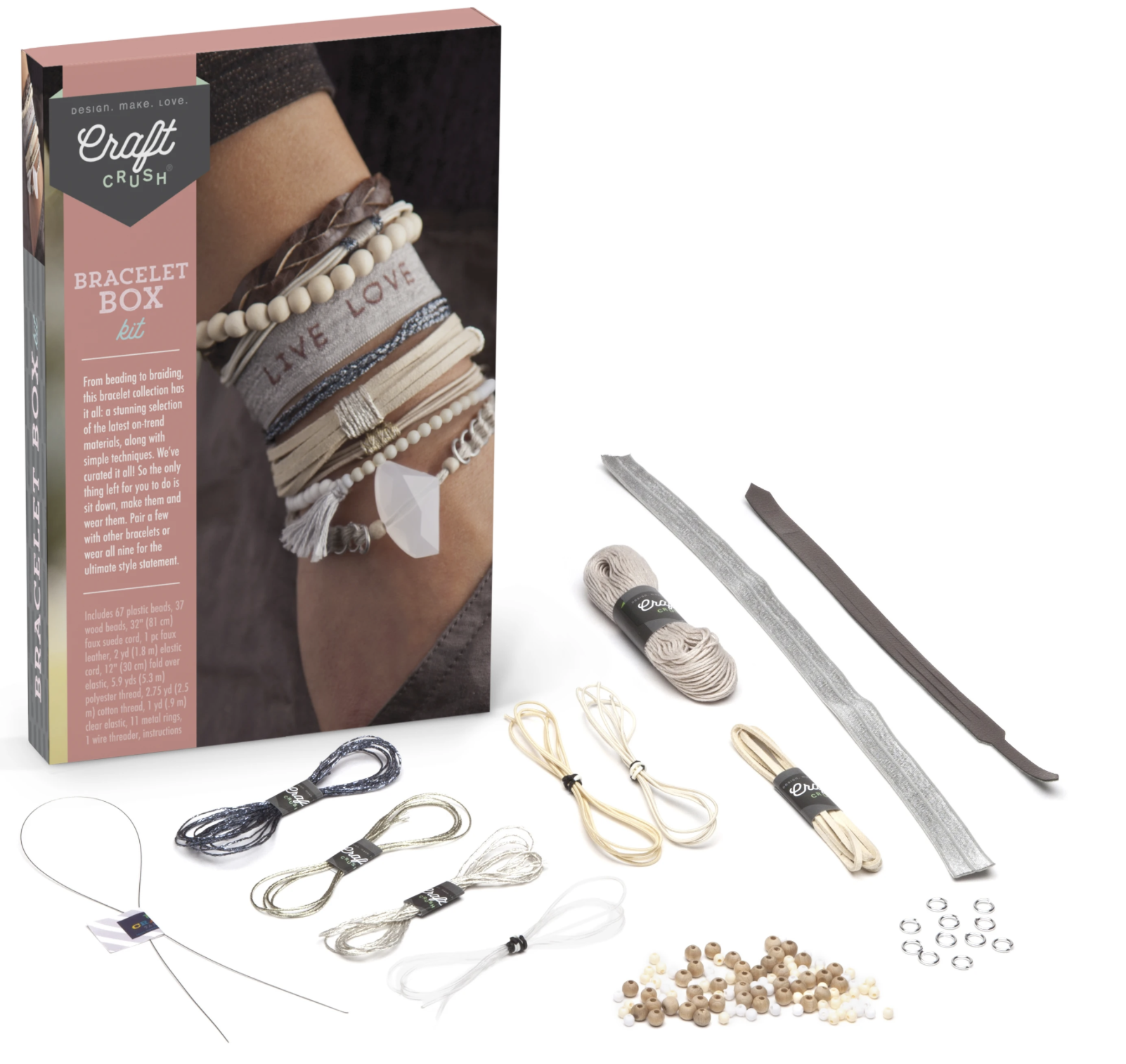 Ann Williams Craft Crush Bracelet Box-Neutrals